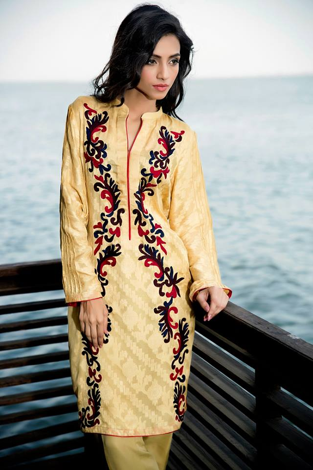 Zainab Hasan Chantilly De Lace Eid Formal Dresses Collection 2015-2016 (3)