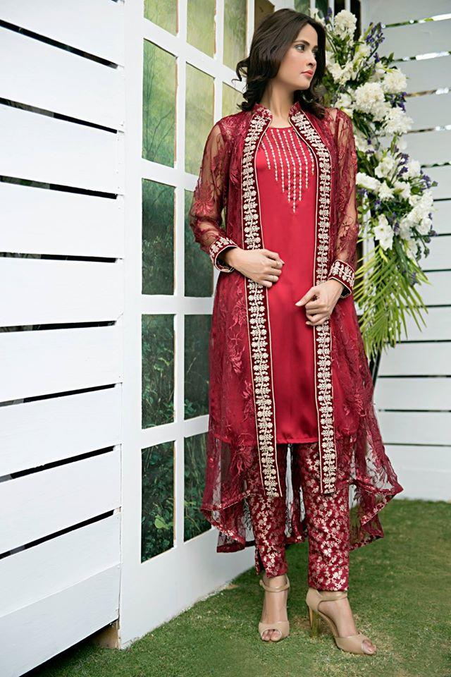 Zainab Hasan Chantilly De Lace Eid Formal Dresses Collection 2015-2016 (30)
