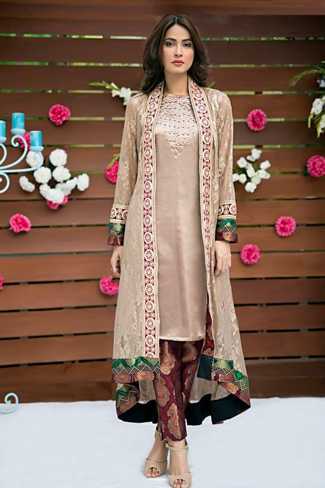 Zainab Hasan Chantilly De Lace Eid Formal Dresses Collection 2015-2016 (31)