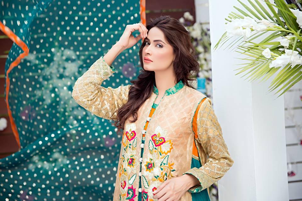 Zainab Hasan Chantilly De Lace Eid Formal Dresses Collection 2015-2016 (32)