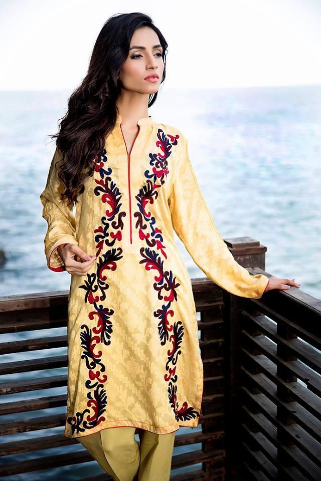 Zainab Hasan Chantilly De Lace Eid Formal Dresses Collection 2015-2016 (9)