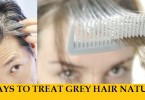 10 best ways to treat grey hair naturally