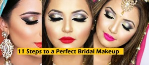 11 Steps to Perfect Bridal Wedding Makeup Tutorial