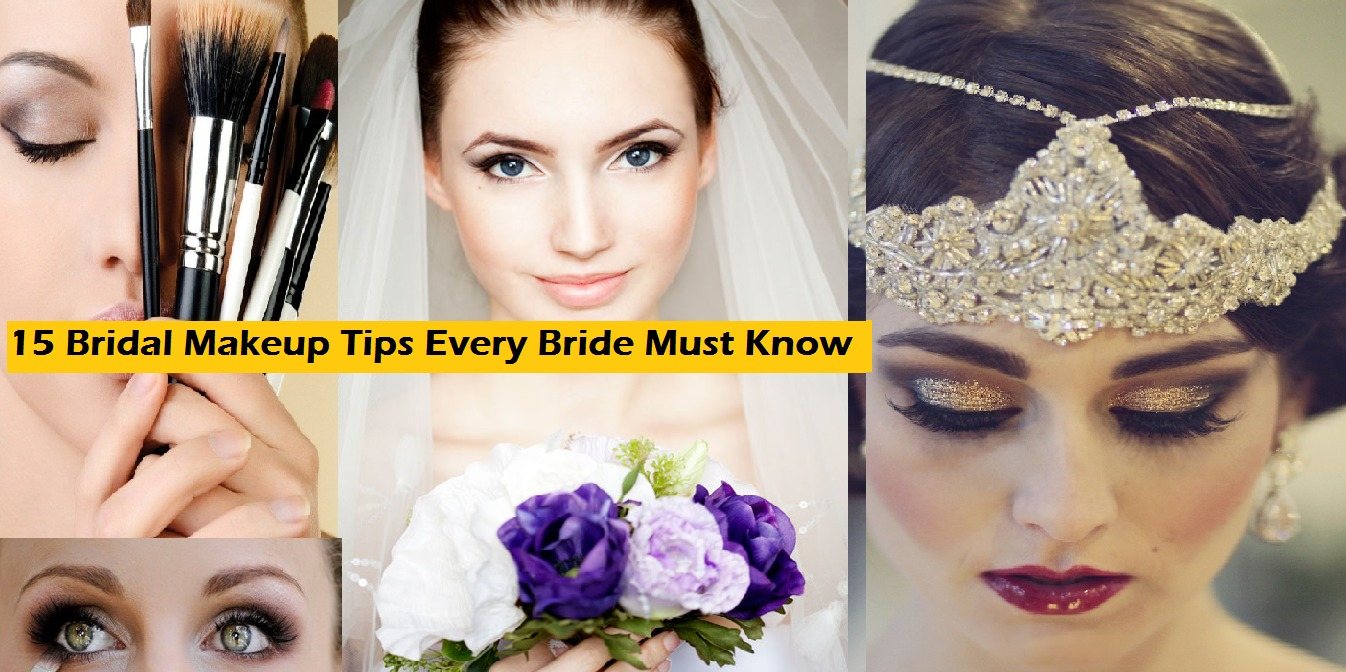 15 Bridal Makeup Tips Every Bride Must Know
