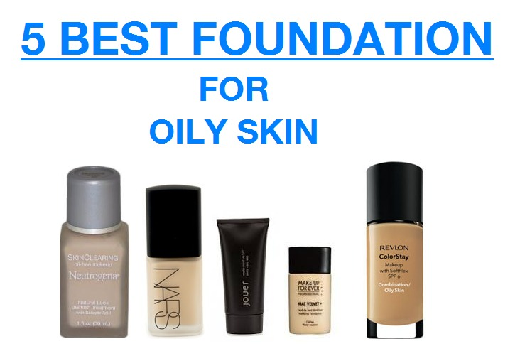 5 Best Foundations for Oily Skin - Copy