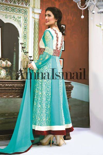 Amna Ismail Fancy Chiffon Dresses Embroidered Festival Collection 2015-2016 (7)