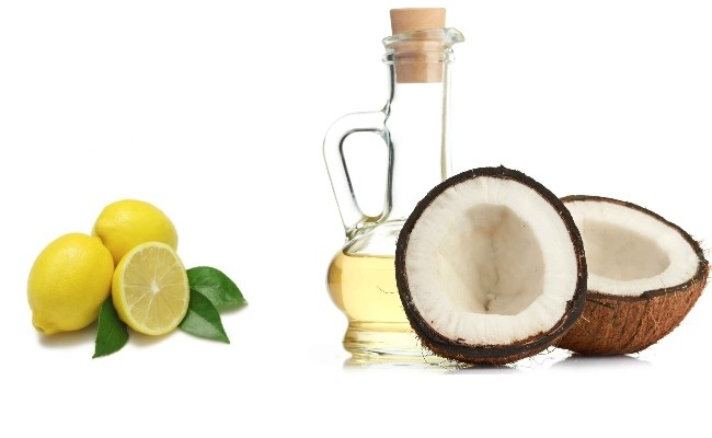 Coconut oil & lemon