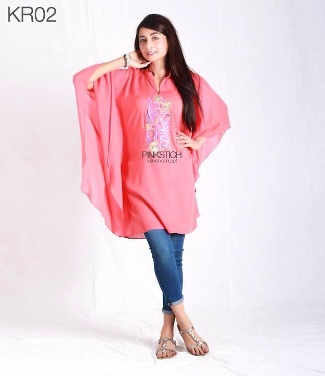 Colorful Stylish Kurta Dresses for Women By Pinkstich Collection 2015-2016 (13)