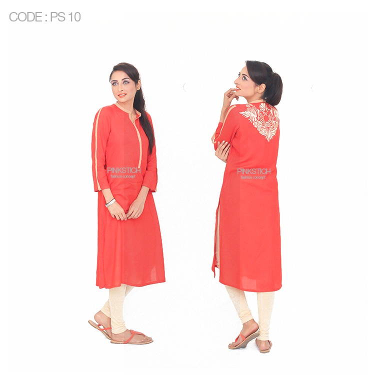 Colorful Stylish Kurta Dresses for Women By Pinkstich Collection 2015-2016 (14)