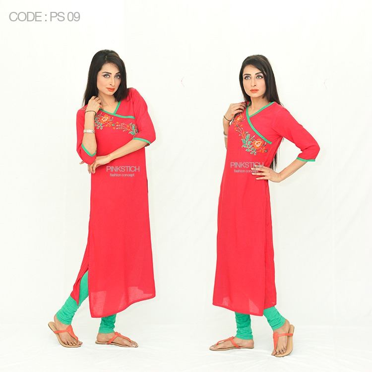 Colorful Stylish Kurta Dresses for Women By Pinkstich Collection 2015-2016 (15)