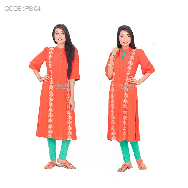 Colorful Stylish Kurta Dresses for Women By Pinkstich Collection 2015-2016 (17)