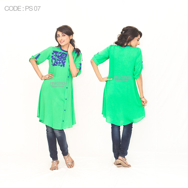 Colorful Stylish Kurta Dresses for Women By Pinkstich Collection 2015-2016 (24)