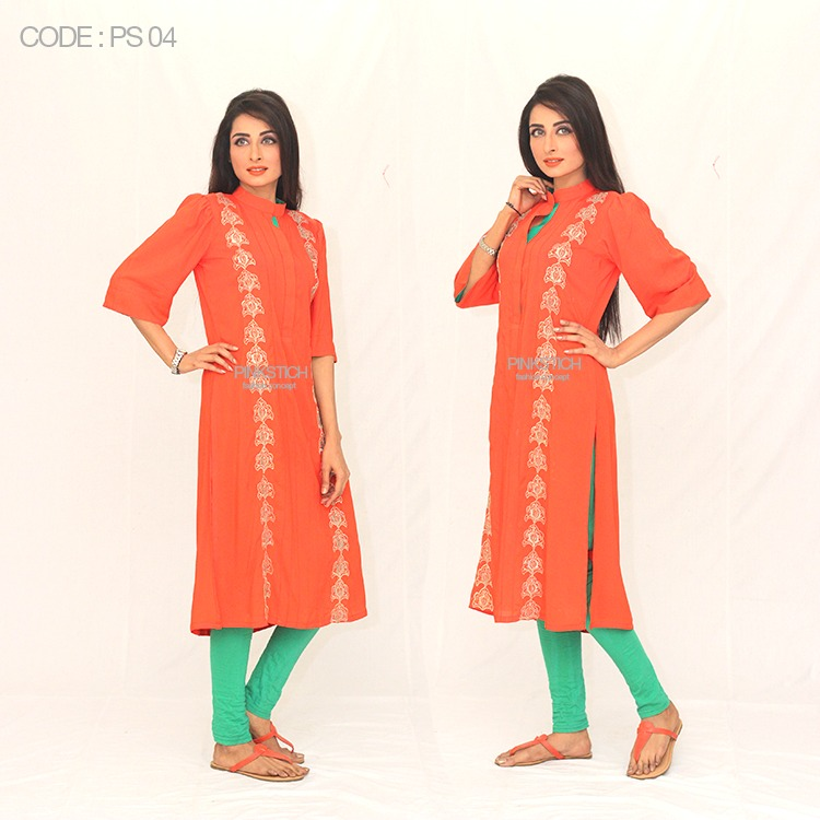 Colorful Stylish Kurta Dresses for Women By Pinkstich Collection 2015-2016 (25)