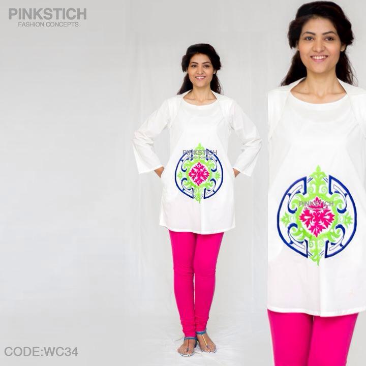 Colorful Stylish Kurta Dresses for Women By Pinkstich Collection 2015-2016 (5)