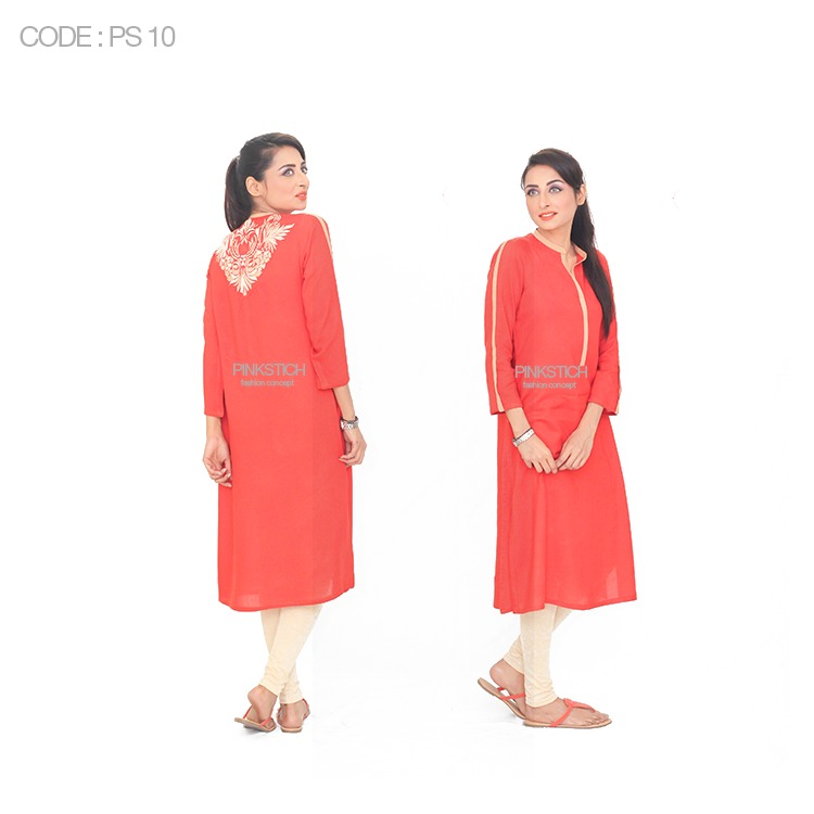 Colorful Stylish Kurta Dresses for Women By Pinkstich Collection 2015-2016 (9)