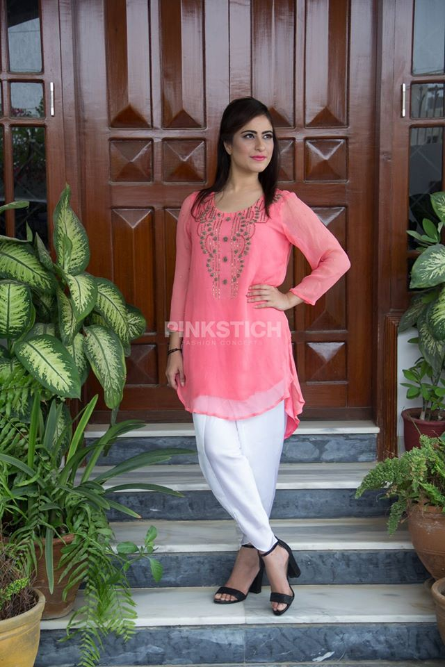 Colourful Stylish Kurta Dresses for Women (1)