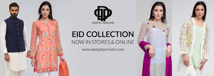 Deepak Perwani Stunning Eid Dresses 2016-2017 for Men & Women collection (1)