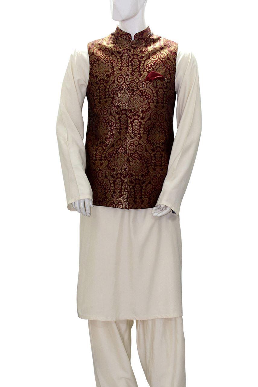 Deepak Perwani Stunning Eid Dresses 2016-2017 for Men & Women collection (5)