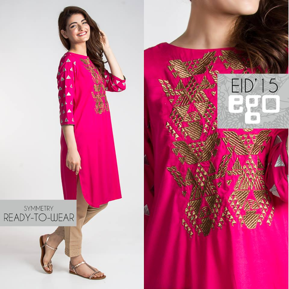 EGO Latest Cool Designer Shirts Eid Formal Collection 2015-2016 (20)