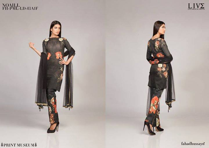 Fahad Hussayn Digital Printed Silk, Eid Collection 2015-2016 (14)