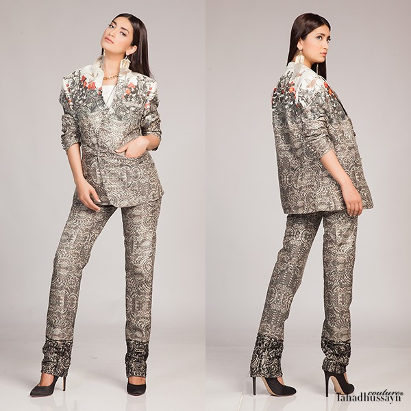 Fahad Hussayn Digital Printed Silk, Eid Collection 2015-2016 (5)