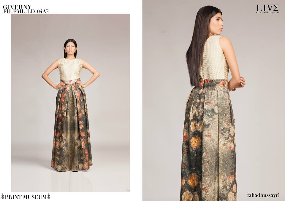 Fahad Hussayn Digital Printed Silk, Eid Collection 2015-2016 (9)