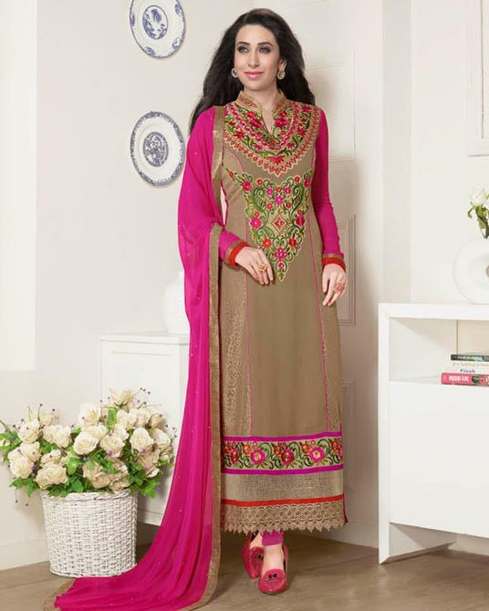 Indian Fashion Latest churidar Suits Designs Collection 2015-2016 (1)