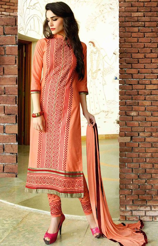 Indian Fashion Latest churidar Suits Designs Collection 2015-2016 (10)