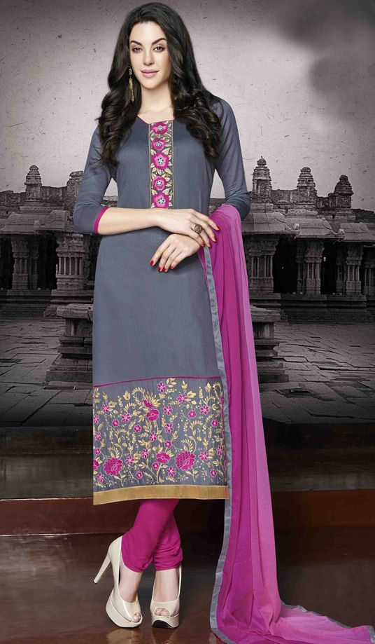 Indian Fashion Latest churidar Suits Designs Collection 2015-2016 (15)