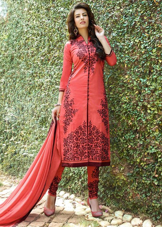 Indian Fashion Latest churidar Suits Designs Collection 2015-2016 (16)