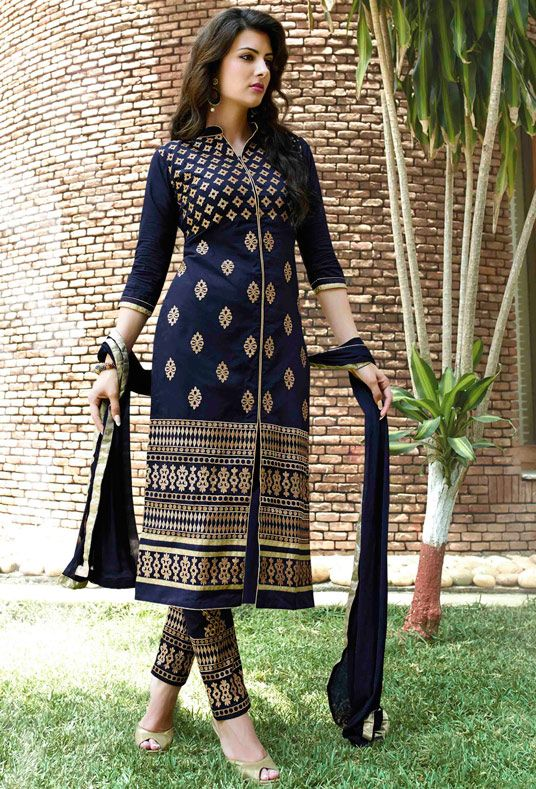 Indian Fashion Latest churidar Suits Designs Collection 2015-2016 (17)