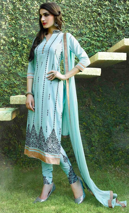 Indian Fashion Latest churidar Suits Designs Collection 2015-2016 (18)