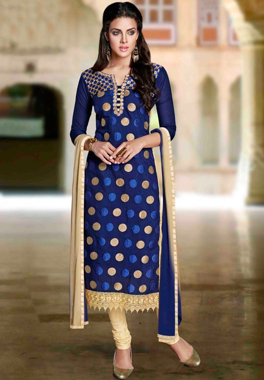 Indian Fashion Latest churidar Suits Designs Collection 2015-2016 (2)