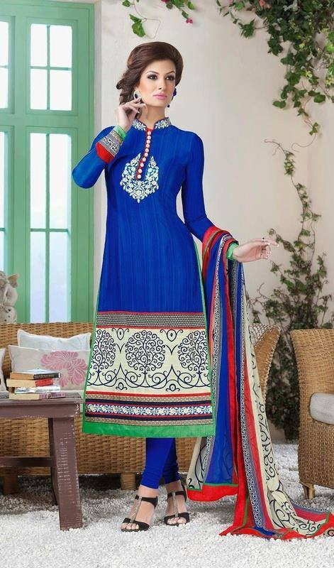 Indian Fashion Latest churidar Suits Designs Collection 2015-2016 (20)