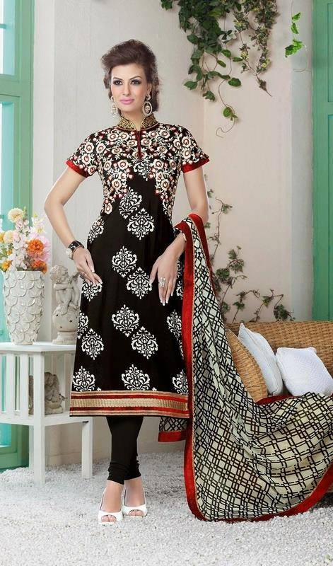 Indian Fashion Latest churidar Suits Designs Collection 2015-2016 (23)