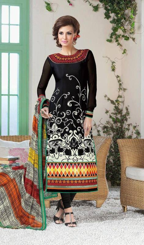Indian Fashion Latest churidar Suits Designs Collection 2015-2016 (30)