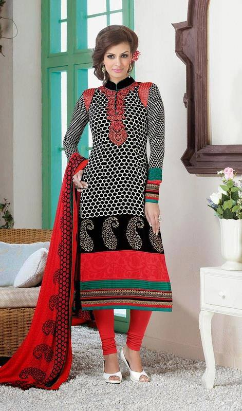 Indian Fashion Latest churidar Suits Designs Collection 2015-2016 (31)