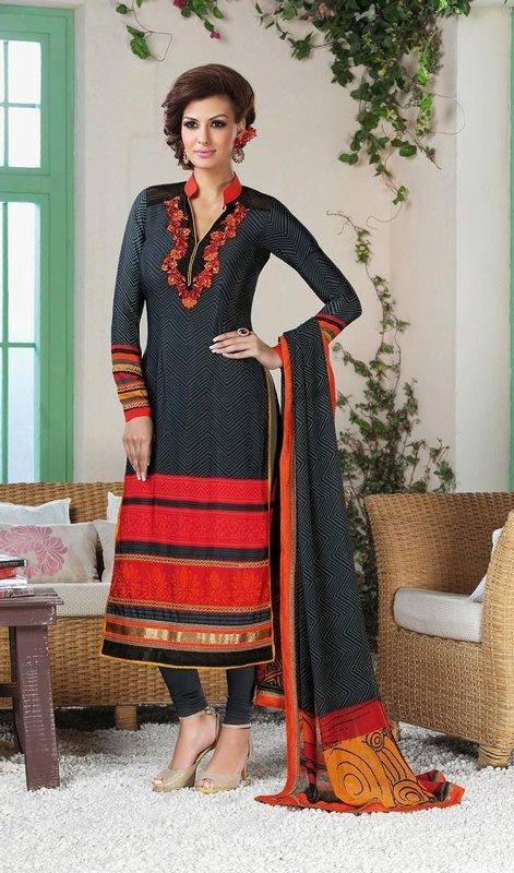 Indian Fashion Latest churidar Suits Designs Collection 2015-2016 (33)