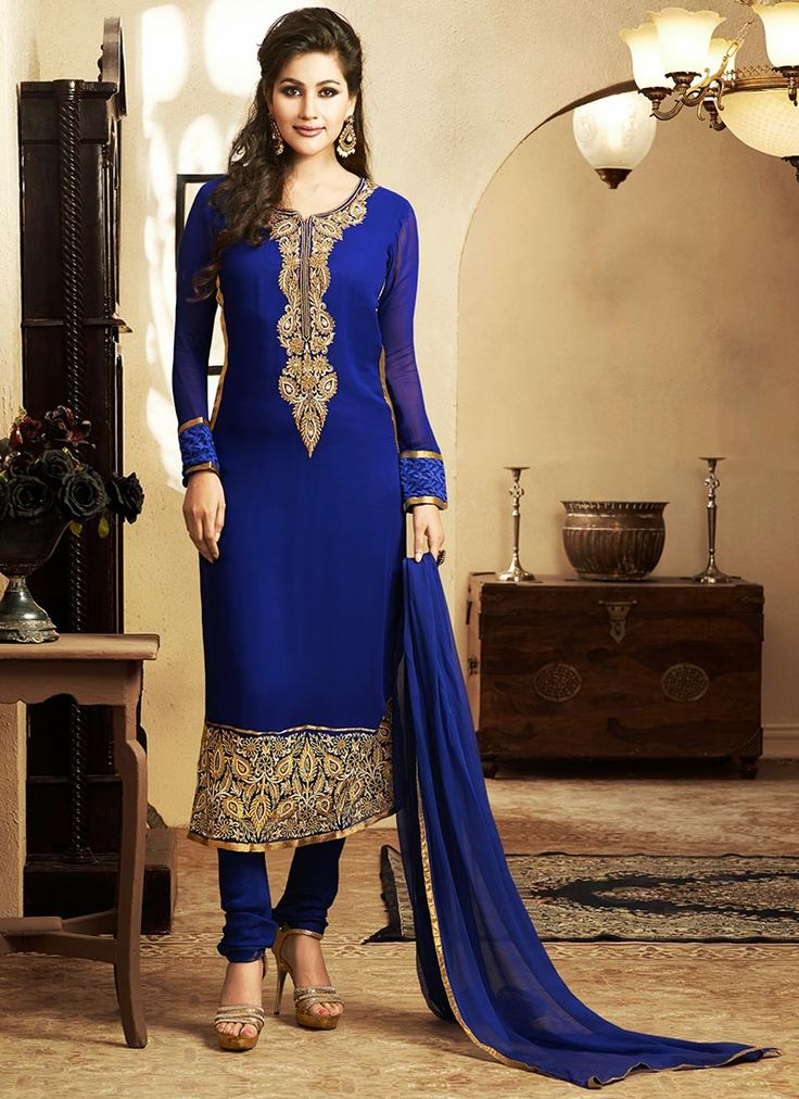 Indian Fashion Latest churidar Suits Designs Collection 2015-2016 (35)
