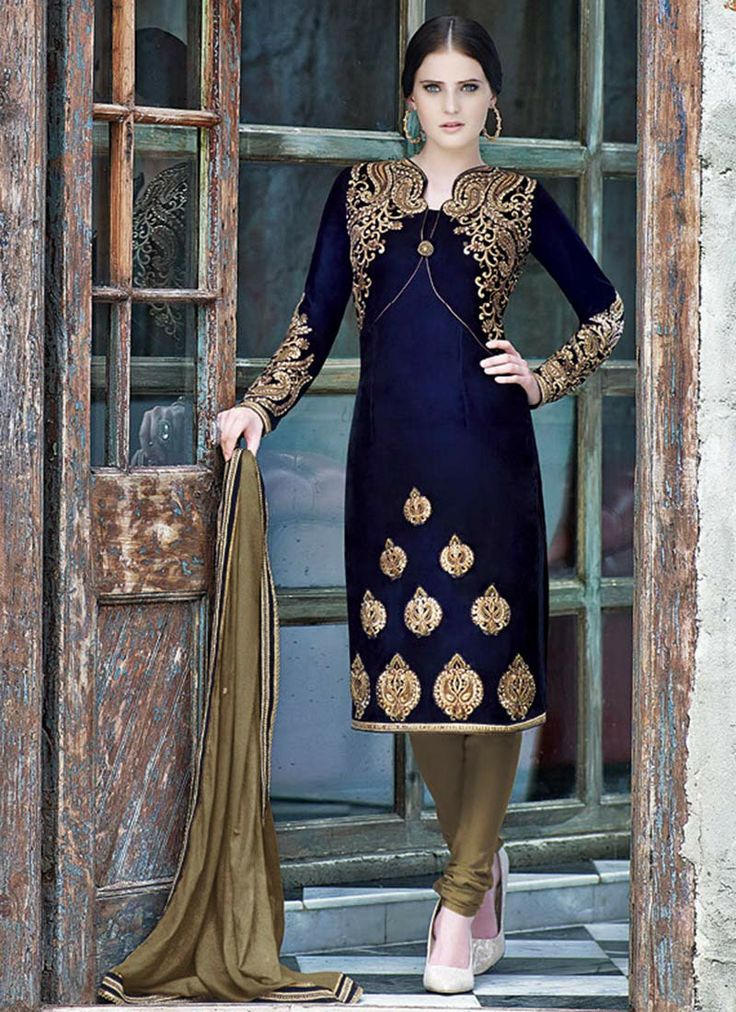 Indian Fashion Latest churidar Suits Designs Collection 2015-2016 (9)