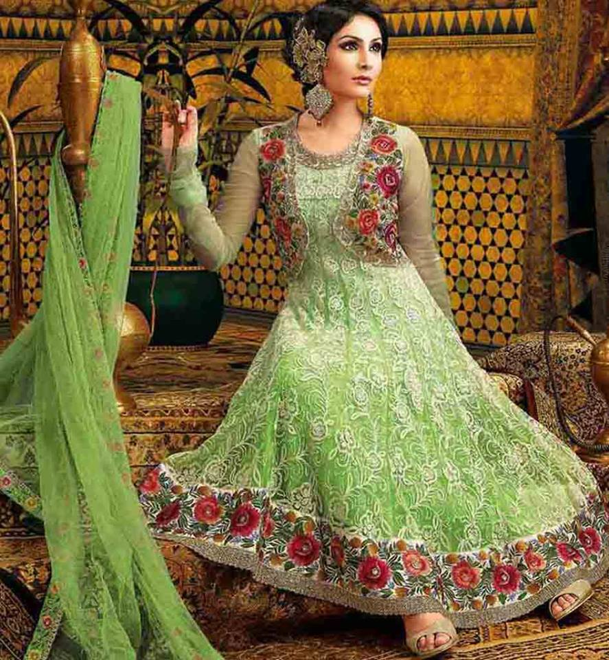 43bdfef8e7 Beautiful Indian Party Wear Anarkali Dresses Collection 2019-2020