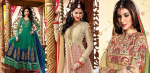 Beautiful Indian Party Wear Anarkali Dresses Collection 2018-2019