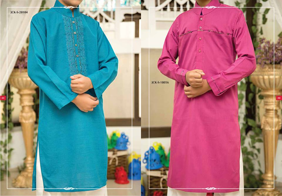 J. Eid Kurta Shalwar Kameez Collection for Men & Boys 2015-2016 (1)