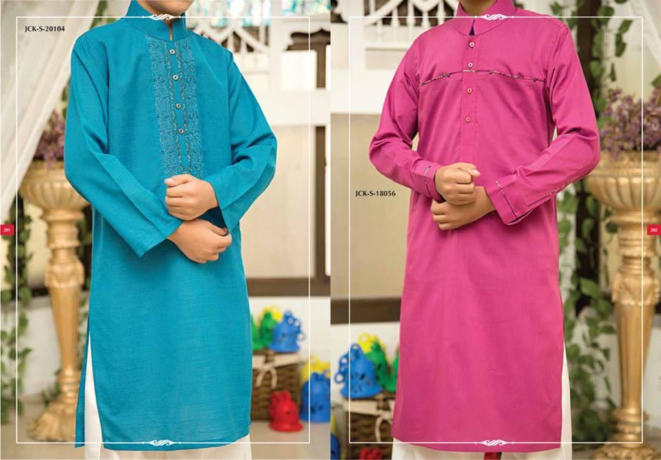 J. Eid Kurta Shalwar Kameez Collection for Men & Boys 2015-2016 (1)