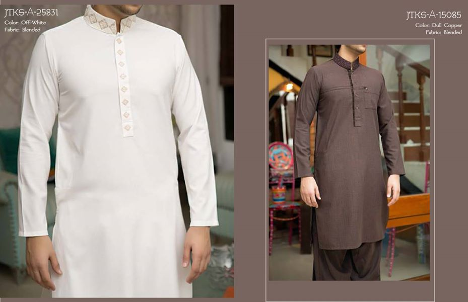 J. Eid Kurta Shalwar Kameez Collection for Men & Boys 2015-2016 (10)