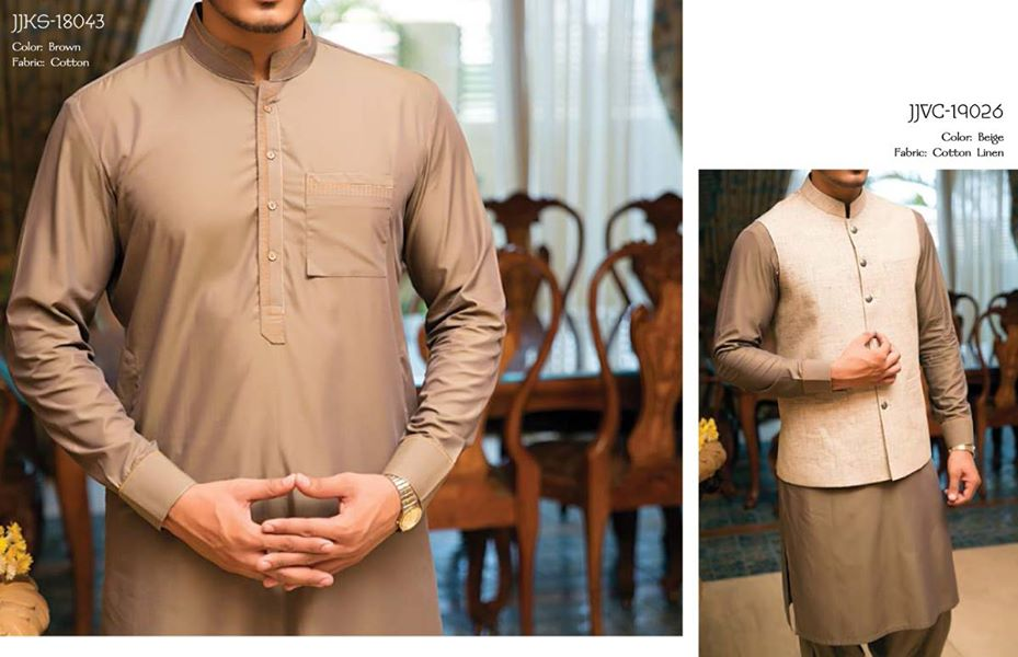 J. Eid Kurta Shalwar Kameez Collection for Men & Boys 2015-2016 (12)