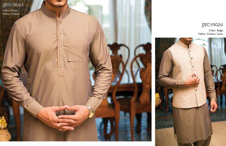 J. Eid Kurta Shalwar Kameez Collection for Men & Boys 2015-2016 (12)