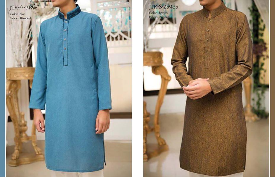 J. Eid Kurta Shalwar Kameez Collection for Men & Boys 2015-2016 (13)