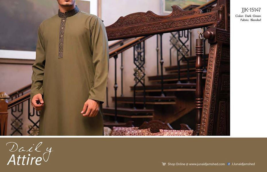 J. Eid Kurta Shalwar Kameez Collection for Men & Boys 2015-2016 (14)