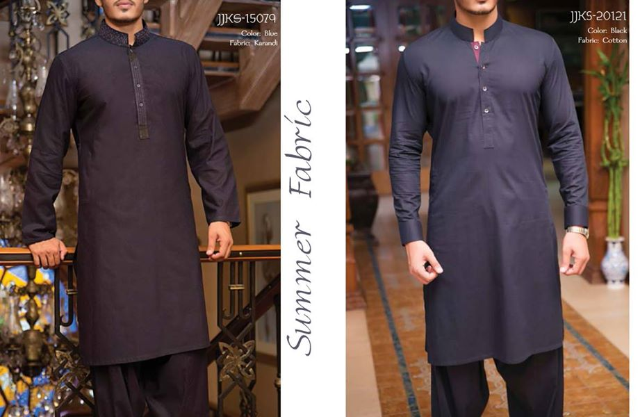J. Eid Kurta Shalwar Kameez Collection for Men & Boys 2015-2016 (15)